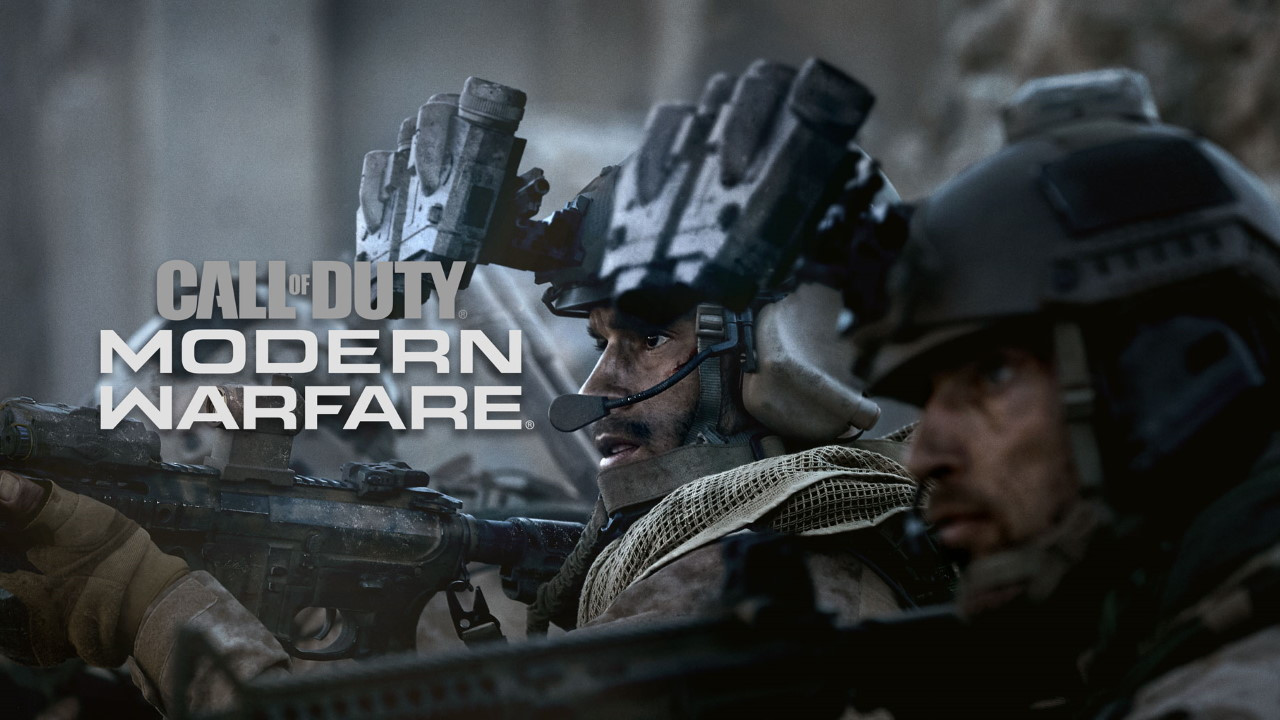 Capa do jogo Call of Duty Modern Warfare